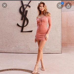 Worn Once Majorelle Darling Dress Peach XS